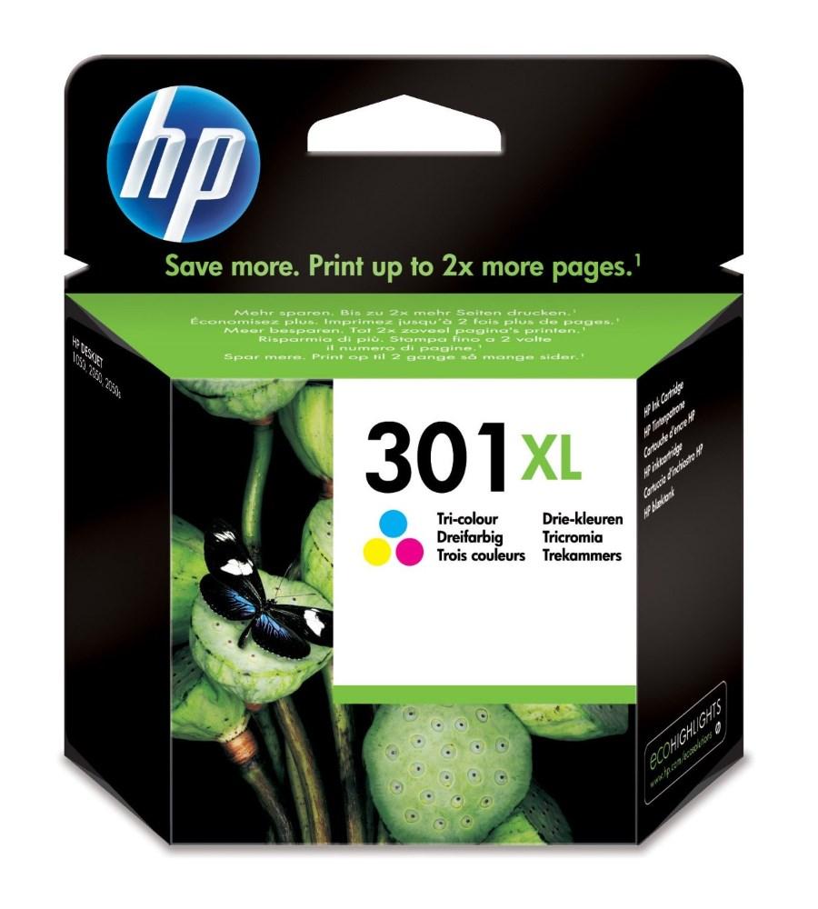 Cartridge inkoustová náplň HP HP 301XL CH564EE tříbarevná kazeta CH564EE