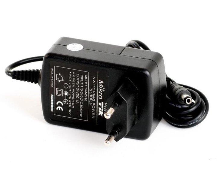 Napájecí adaptér MikroTik GM-2410 Napájecí adaptér, 24 V, 1 A, pro RouterBOARD GM-2410