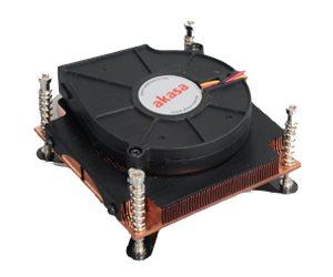 Chladič AKASA AK-CC064 Chladič, pro Intel aktivní LGA 1366 1U AK-CC064