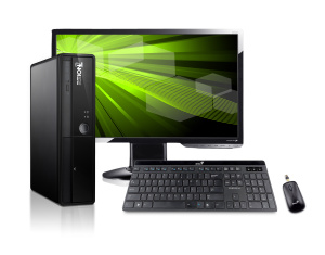 HAL3000 SET ION 2 9203/ Intel Atom 525/ 3GB/ 500GB/ nVidia GT218/ DVD/ HDMI/ W7H + 22