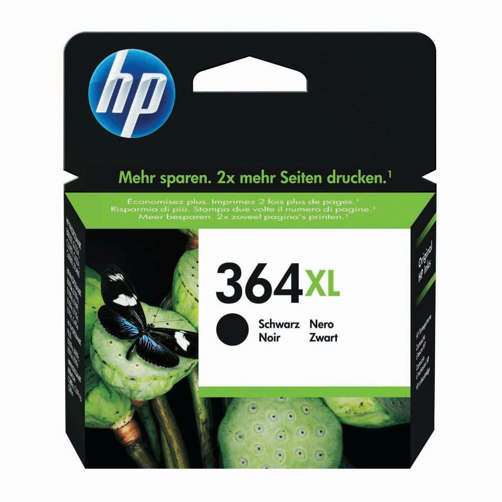 Inkoustová náplň HP 364XL CN684EE černá Inkoustová náplň, originální, pro HP DeskJet 3070A, Photosmart 551x, Photosmart 6510, 7510, C5380, C6380, D45460, Plus, Premium Fax, černá CN684EE