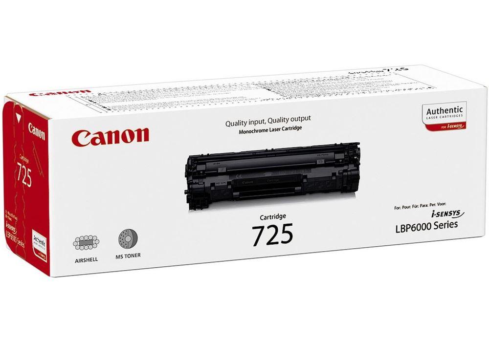 Canon toner CRG-725/ LBP-6100/ 6000/ 1600 stran/ Černý