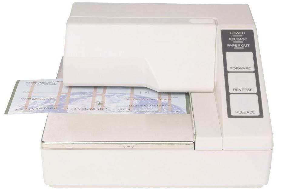 Pokladní tiskárna EPSON TM-U295 Pokladní tiskárna, sériová, bílá, bez napájecího zdroje C31C163272