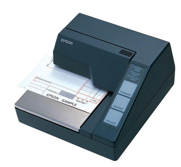 Pokladní tiskárna EPSON TM-U295P Pokladní tiskárna, paralelní, černá, bez napájecího zdroje, CZ C31C178272