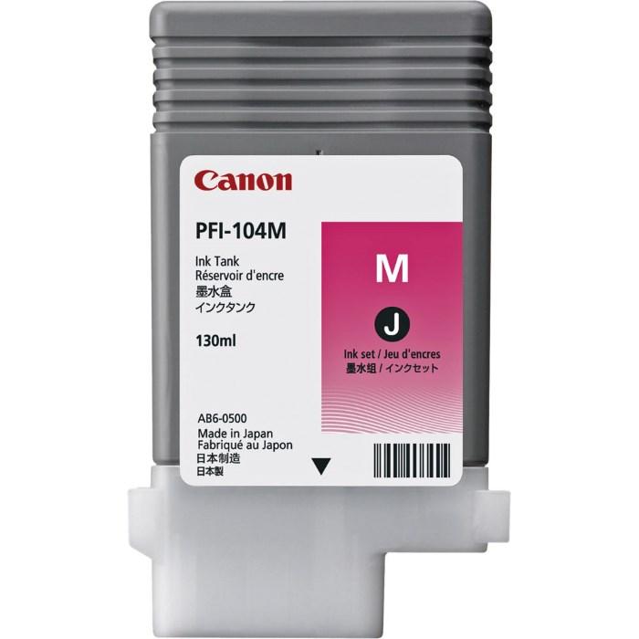 Canon  Zásobník inkoustu PFI-104M/ iPF-65x/ 75x/ Magenta