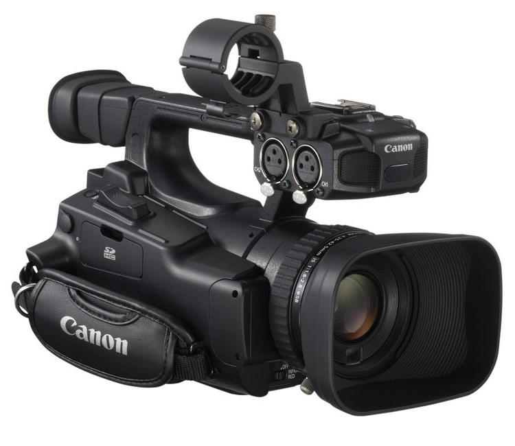Videokamera Canon LEGRIA XF-100 PRO HD Videokamera, digitální, 10x zoom, Full HD, 3,5 LCD, CF, 2,37 MPix, Černá 4889B008