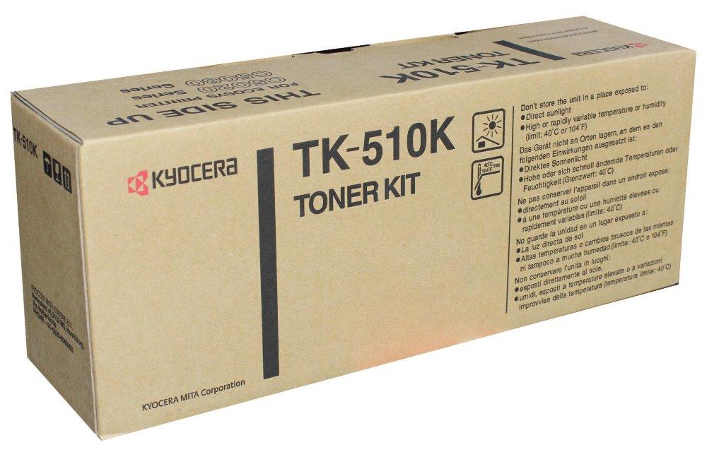 Toner Kyocera TK-510K , FS-C5020N, C5030N, 8000 stran, Černý TK-510K