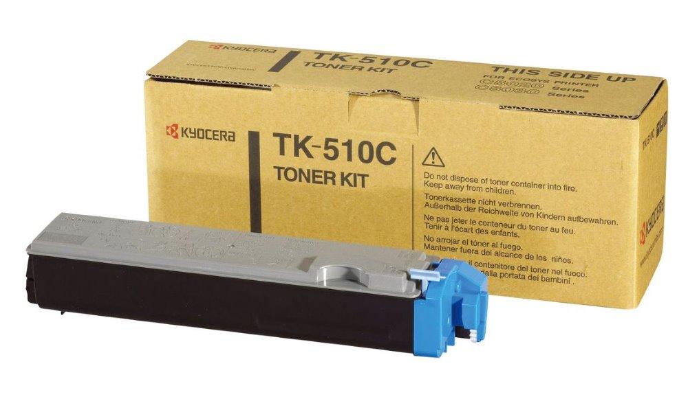 Toner Kyocera TK-510C , FS-C5020N, C5030N, 8000 stran, Modrý TK-510C