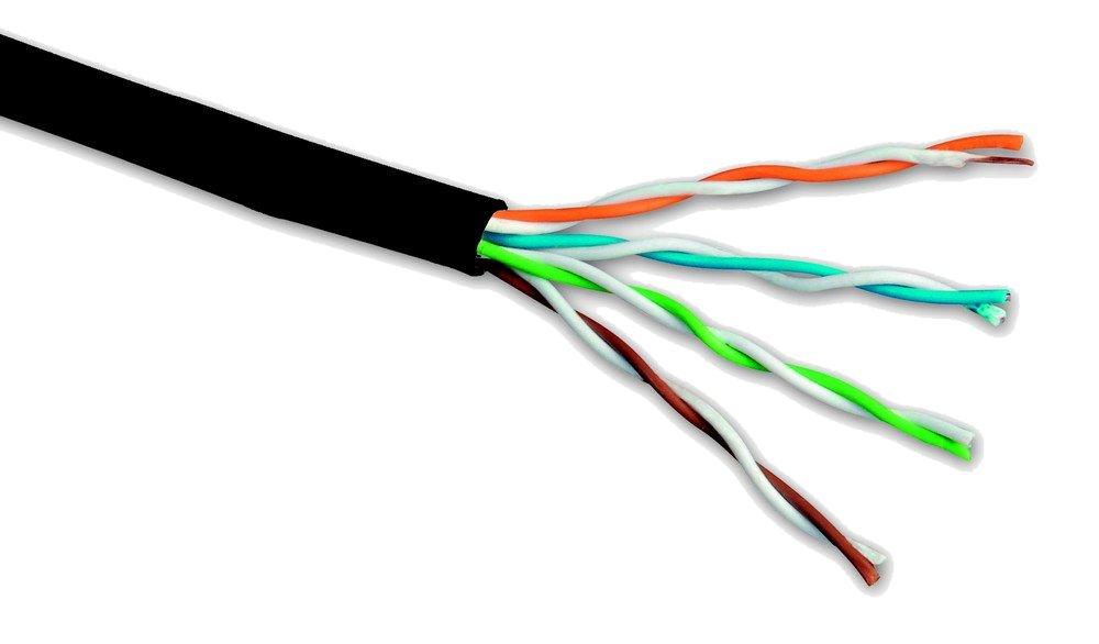 Síťový kabel Solarix UTP cat.5e, 305 m Síťový kabel, CAT5e, 305 m, PE, venkovní 27655191