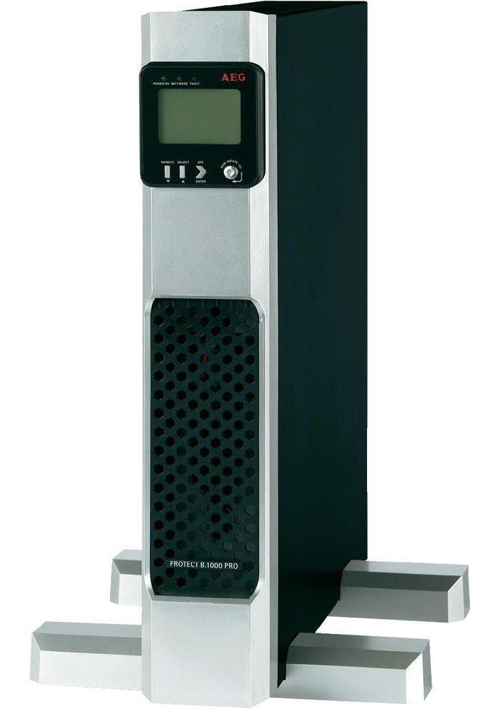Záložní zdroj UPS AEG UPS Protect B.1400 PRO Záložní zdroj UPS, 1400 VA, 1260 W, 230 V, Tower/Rack - 2U, otočný display, line-interactive UPS 6000008426