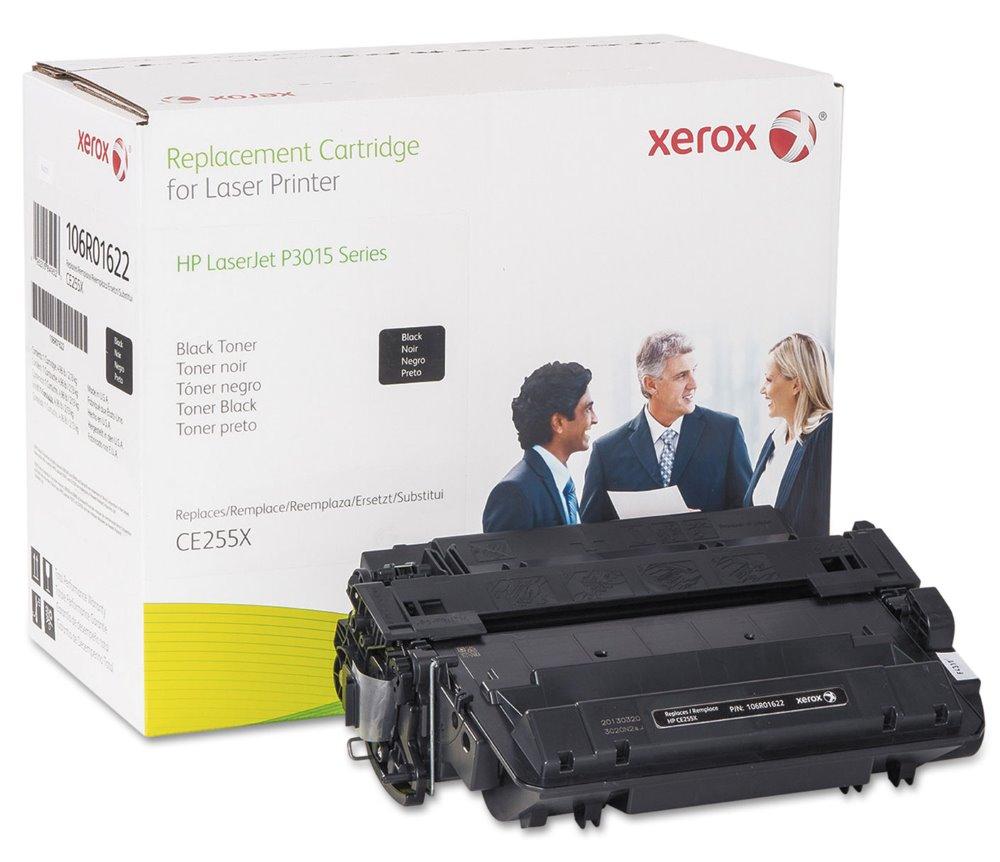 Toner Xerox za HP 55X (CE255X) černý Toner, kompatibilní s HP CE255X, pro LJ P3015, 12500 stran, černý
