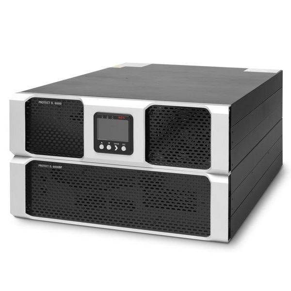 Záložní zdroj UPS AEG UPS Protect D.6000 Záložní zdroj UPS, 6000 VA, 5400 W, 230 V, Rack - 3U 6000008439
