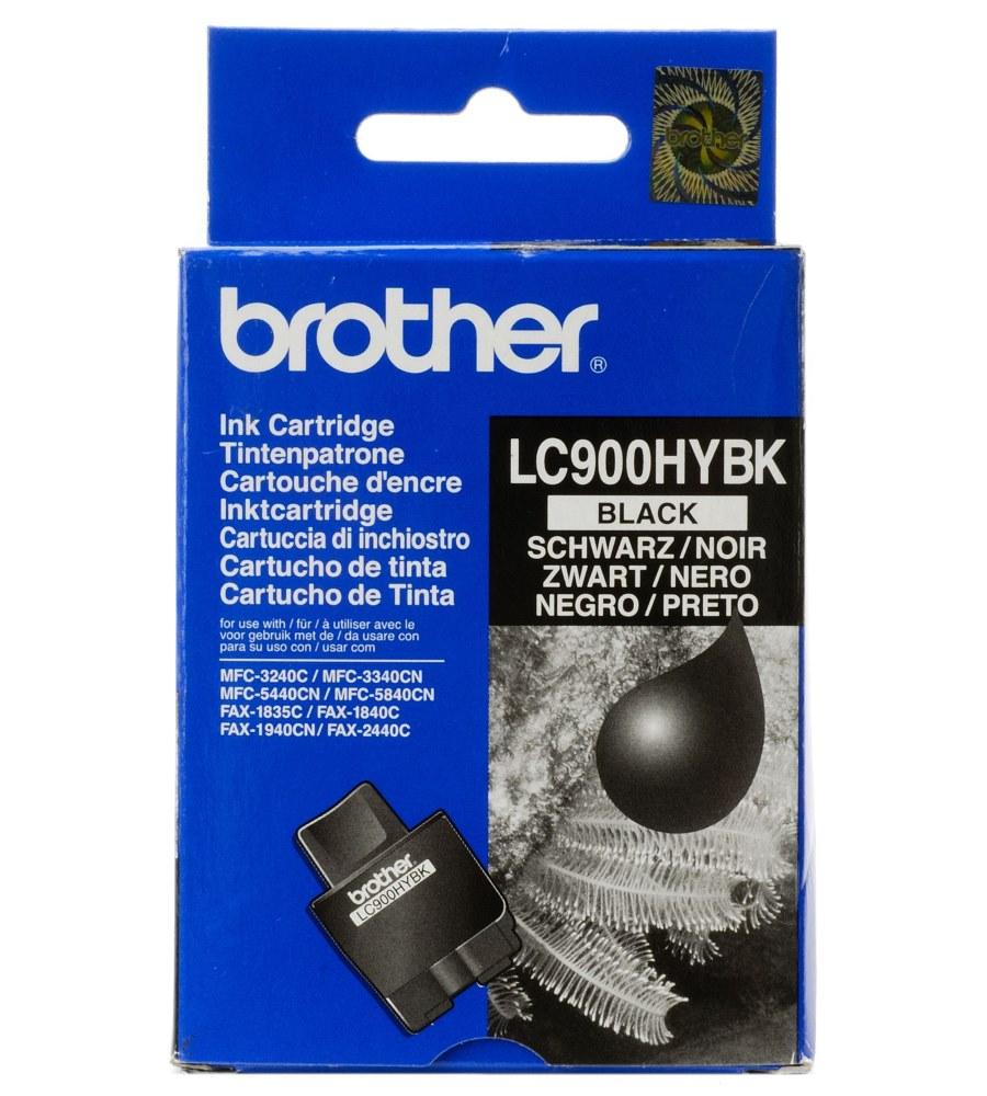 Inkoustová náplň Brother LC 900 černá Inkoustová náplň, černá, 900 stran LC900HYBKYJ1