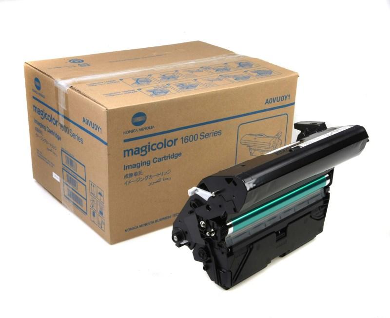 Tiskový válec Konica MINOLTA Magicolor A0VU0Y1 Tiskový válec, pro tiskárny Konica MINOLTA Magicolor 1600W,1680MF,1690MF, 45000 stran černých, 11250 stran barevných A0VU0Y1