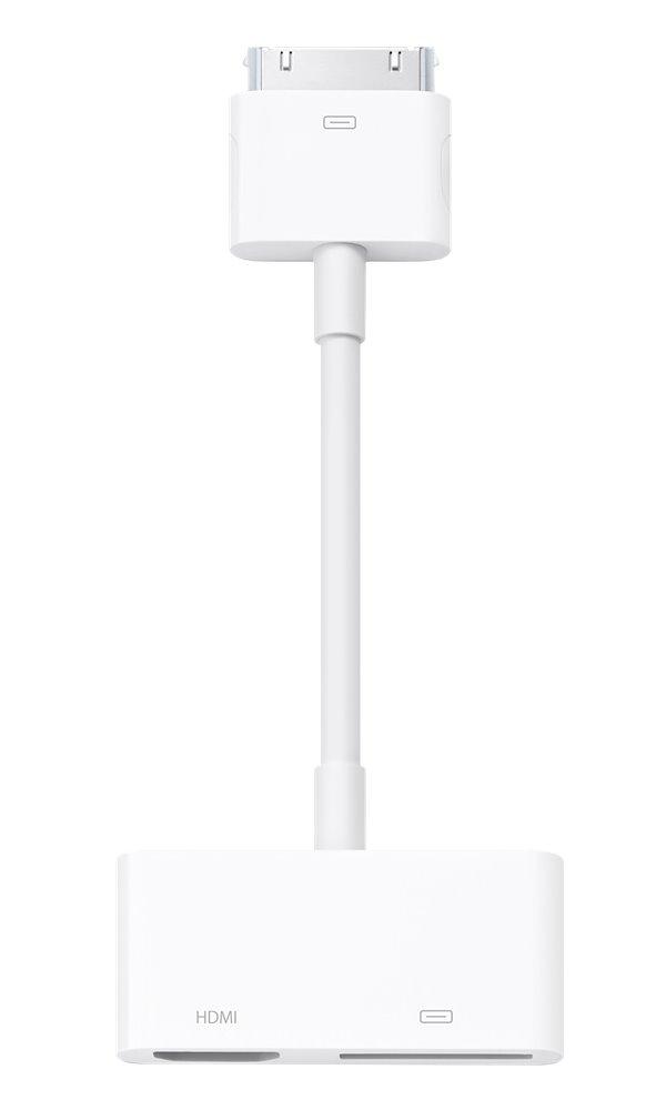 Kabel Apple 30-pin - HDMI Kabel, adaptér, AV, HDMI, Apple 30pin, konektor, pro iPad, bílý MD098ZM/A