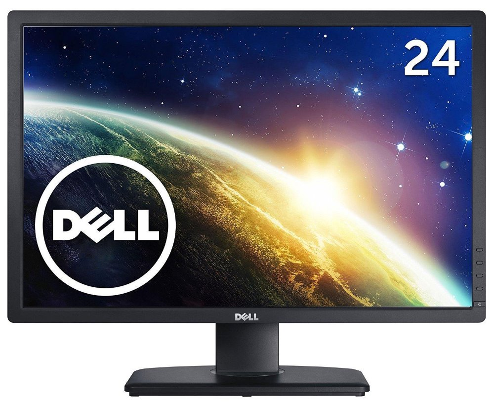 LED monitor DELL U2412M UltraSharp 24 LED monitor, 24, 16:10, 1920x1200, 1000:1, 8ms, Full HD, USB, DVI, DisplayPort, IPS, 3YNBD on-site 210-AGYH