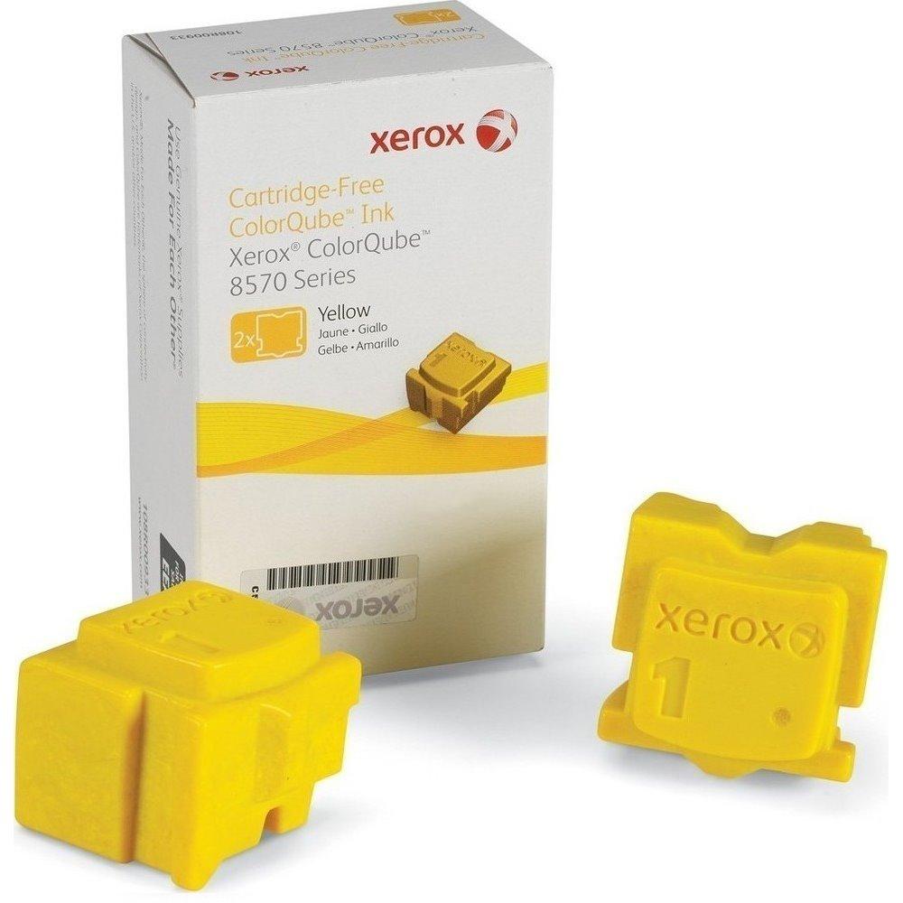 Xerox original tuhý inkoust ColorQube 8570/ žlutý/ 4400s.