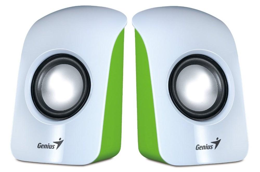 Reproduktory Genius SP-U115 Reproduktory, přenosné, USB napájení, bílé 31731006103