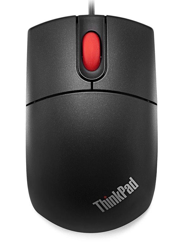 Myš Lenovo Travel Wheel Myš, optická, 3 tlačítková, 800dpi, PS2 / USB 31P7410