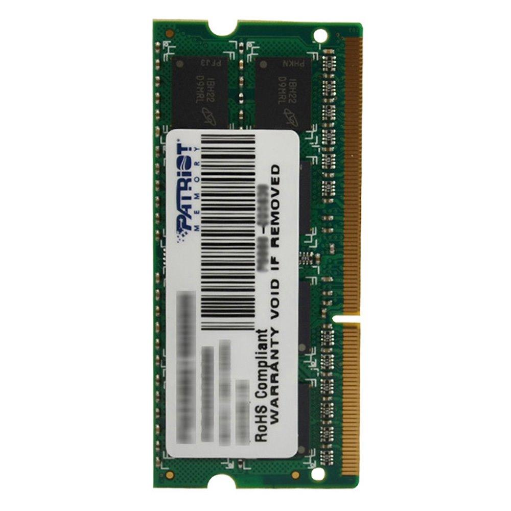 Operační paměť RAM Patriot 4G 1600MHz Operační paměť, DDR3 4GB, PC3-12800 1600MHz CL11 PSD34G16002S