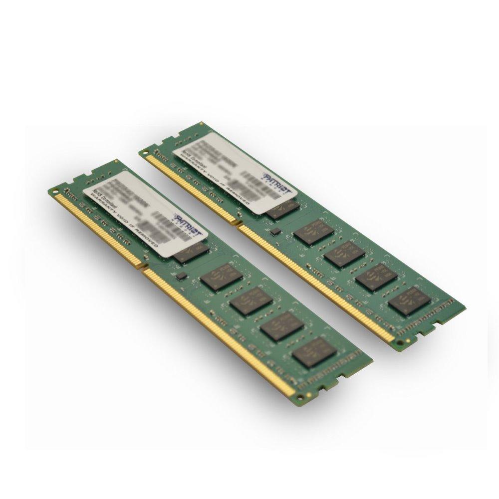 Operační paměť RAM Patriot 8 GB 1600 MHz Operační paměť, DDR3 8GB 2x4GB PC3-12800 1600MHz CL911 PSD38G1600K