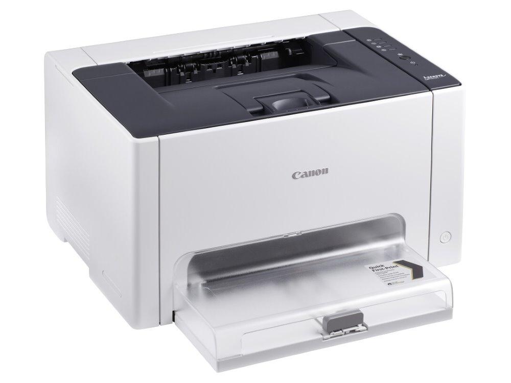 Laserová tiskárna Canon i-SENSYS LBP7010C Barevná laserová tiskárna, A4, 2400x600, USB, Bílá 4896B003