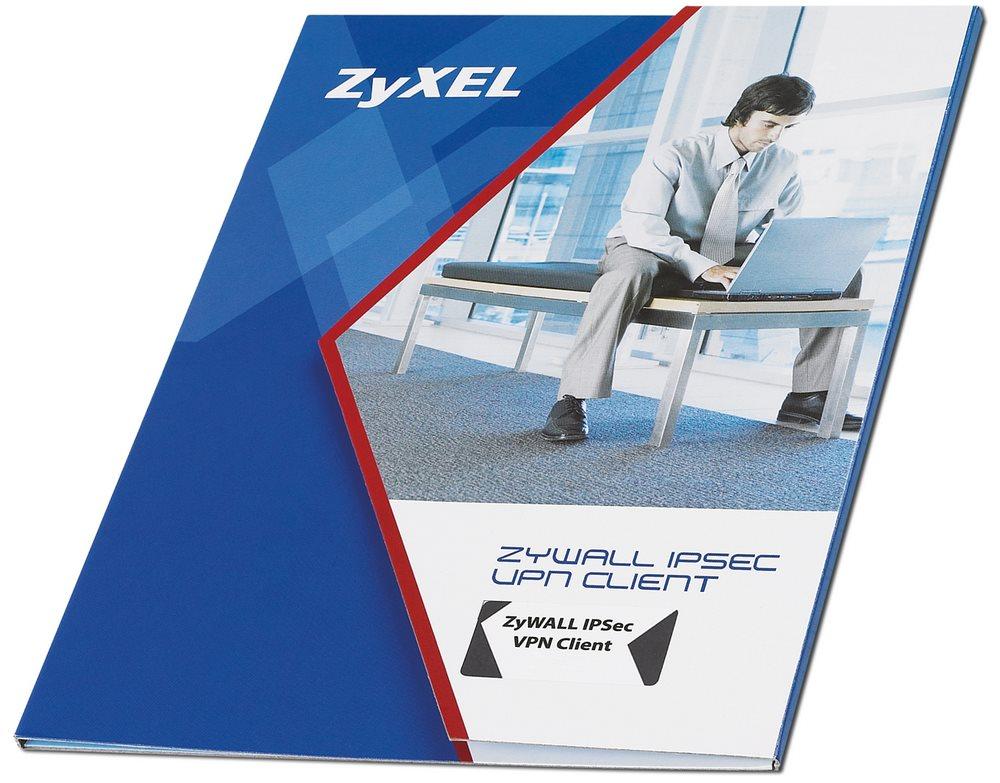 Licence ZyXEL ZyWall IPSec 1 Client Licence, IPSec 1Client, 1 licence, Windows XP 32, Vista 32,64, W2K, WS2003,2008 91-996-038001B
