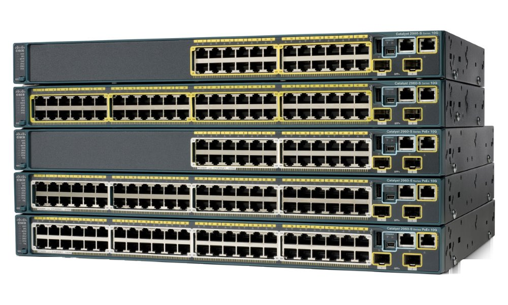 Switch Cisco Catalyst 2960S Switch, 24 x GigE, 4 x SFP LAN Base WS-C2960S-24TS-L