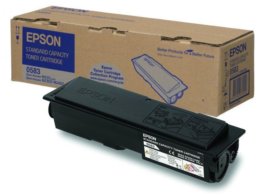 Toner Epson AcuLaser C13S050583, MX20, M2400, M2300, 3000 stran, Černý C13S050583