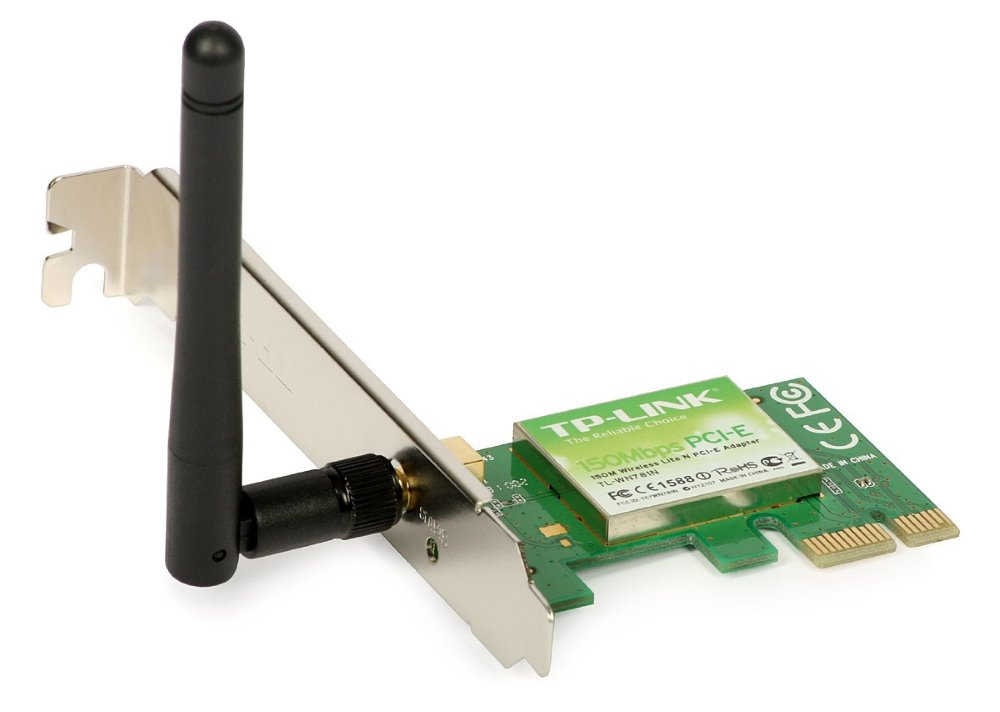 Wi-Fi karta TP-LINK TL-WN781ND Wi-Fi karta, 802.11b/g/n, PCIe, 2,4 GHz, 150 Mbps TL-WN781ND