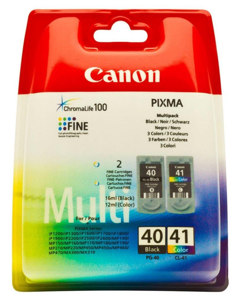 Cartridge inkoustová náplň Canon multipack PG-40 + CL-41 0615B043
