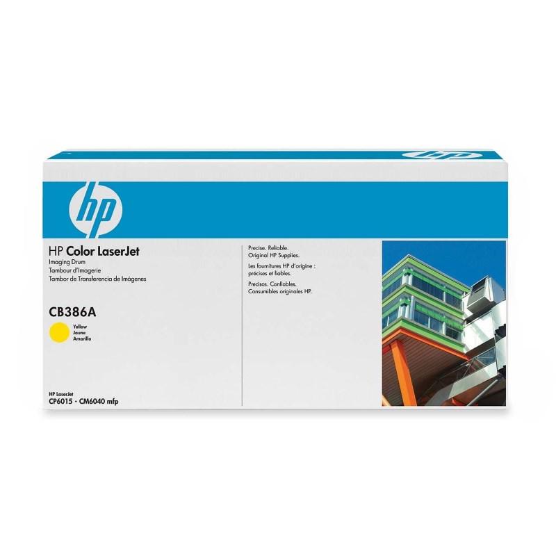 Tiskový válec HP CB386A žlutý Tiskový válec, pro tiskárny HP Color LaserJet CP6015, MFP CM6040, 35000 stran barevně, žlutý CB386A