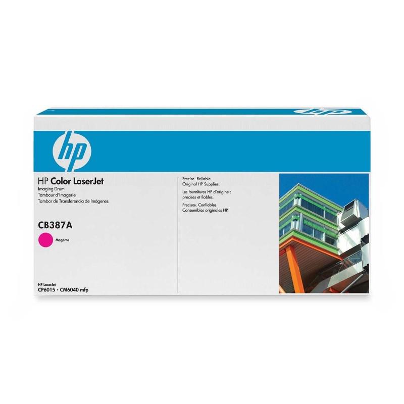 Tiskový válec HP CB387A purpurový Tiskový válec, pro tiskárny HP Color LaserJet CP6015, MFP CM6040, 35000 stran barevně, purpurový CB387A