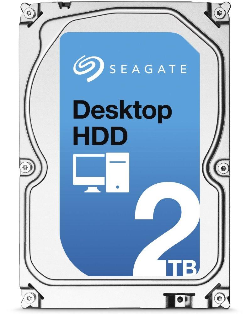 Pevný disk Seagate Desktop HDD 2 TB Pevný disk, 2 TB, SATA600, interní, 3,5, 7200 RPM, 64 MB ST2000DM001