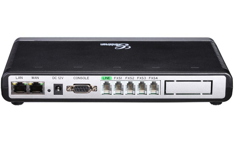 VoIP brána Grandstream GXW-4004 FXS VoIP brána, analogová, FXS, 4 x FXS, 2 x LAN, PSTN, PBX, auto- provisioning GXW4004