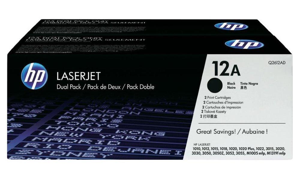 Toner HP Q2612AD černý Q2612AD