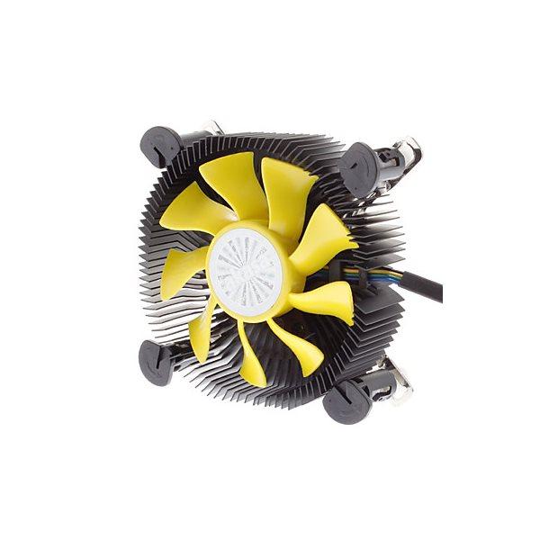 Chladič AKASA AK-CC7118HP01 Chladič, Low Profile, pro Intel 775,1156,1155 pro Mini-ITX, micro-ATX, AK-CC7118HP01