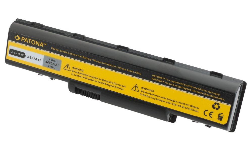 Baterie PATONA pro Acer 4400 mAh Baterie, 4400 mAh, pro notebooky Acer Aspire 4310, 4520, 5735, neoriginální PT2156