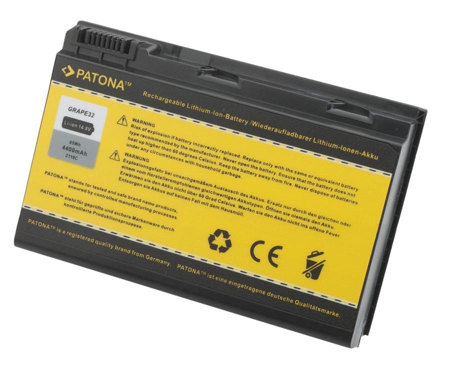 Baterie PATONA pro Acer 4400 mAh Baterie, 4400 mAh, pro notebooky Acer Extensa 5220, 5620, neoriginální PT2110