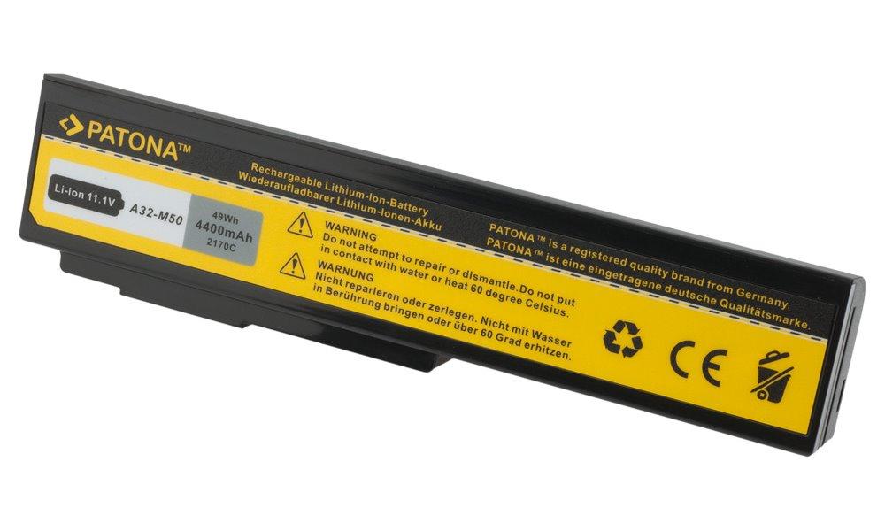 Baterie PATONA pro ASUS 4400 mAh Baterie, 4400 mAh, pro notebooky ASUS A32-M50, neoriginální PT2170