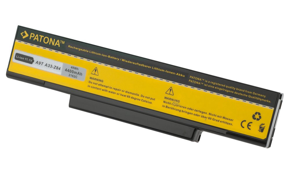 Baterie PATONA pro ASUS 4400 mAh Baterie, 4400 mAh, pro notebooky ASUS A9, F3, neoriginální PT2162