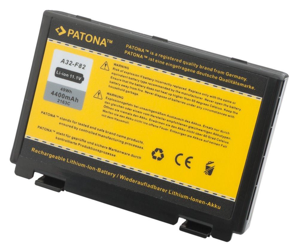 Baterie PATONA pro ASUS 4400 mAh Baterie, pro notebook, 4400mAh, Li-Ion, 11,1V, 6-článková, pro ASUS K50ij