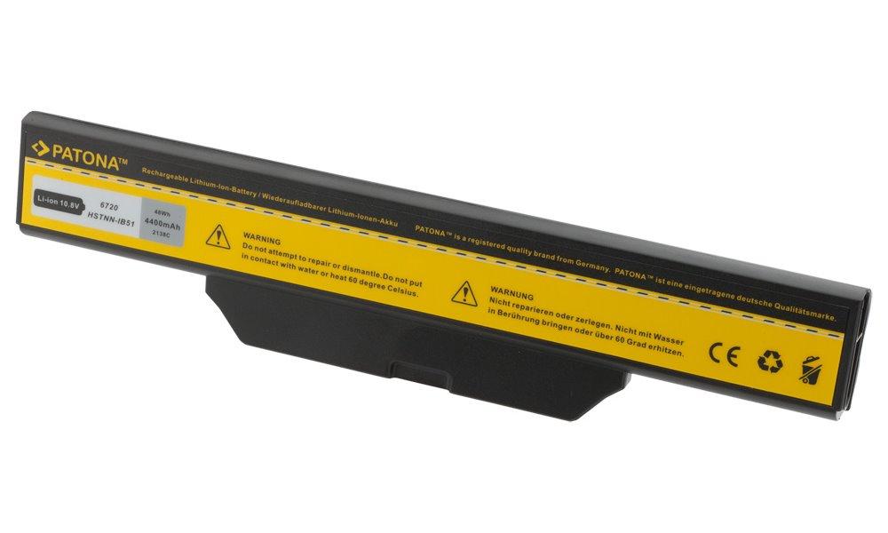 Baterie PATONA pro HP 4400 mAh Baterie, 4400 mAh, pro notebooky HP Business Notebook, Compaq Notebook, neoriginální PT2138