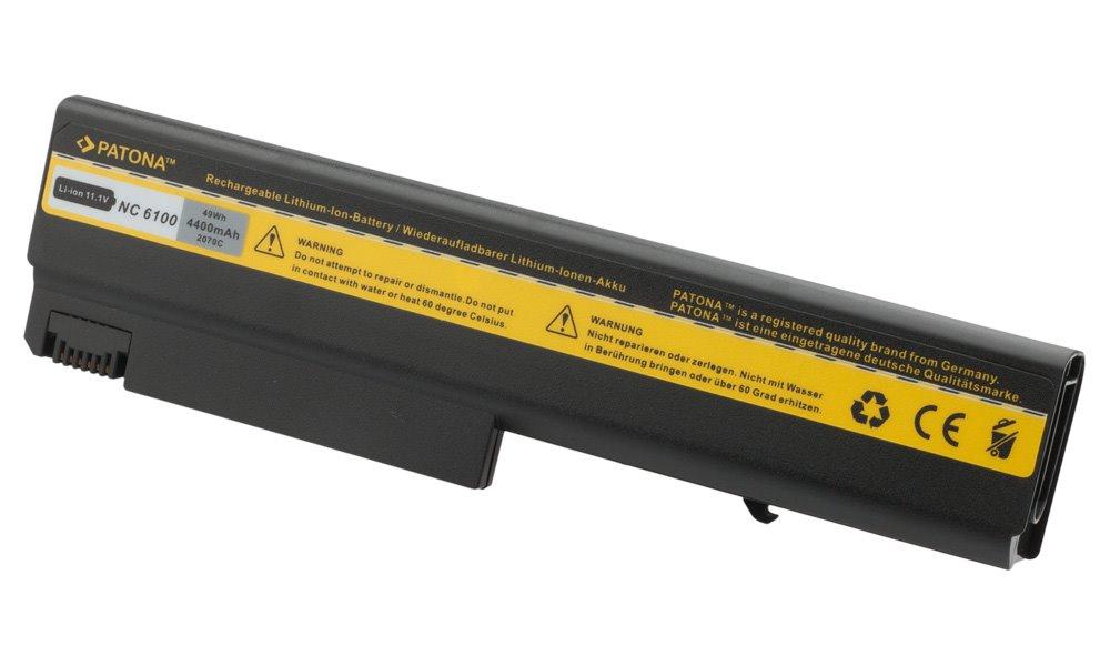 Baterie PATONA pro HP 4400 mAh Baterie, 4400 mAh, pro notebooky HP NX 6110, 6120, Compaq Business Notebook, neoriginální PT2070