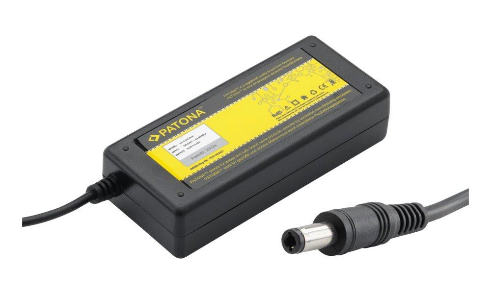 Napájecí adaptér PATONA 65W Napájecí adaptér, pro notebooky, 65W, 19V, 3.42A, Náhradní koncovka 5.5 x 2.5mm PT2502