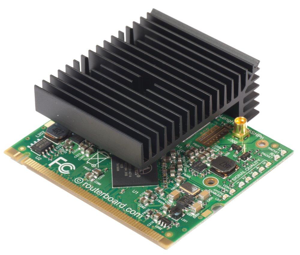 Wi-Fi karta Mikrotik R5SHPn Wi-Fi karta, 802.11a/n, Super High Power MiniPCI, 1xMMCX R5SHPn