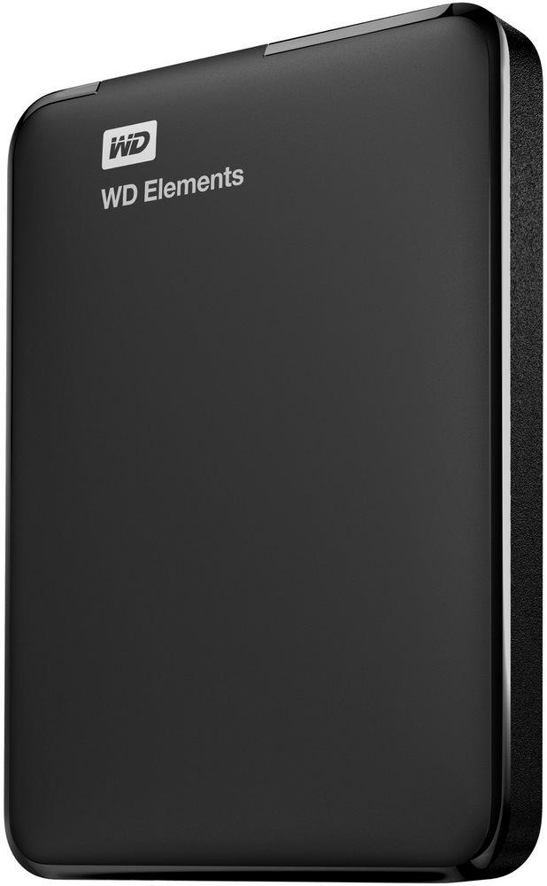 Pevný disk WD Elements Portable 750 GB černý Pevný disk, externí, 2.5, USB 3.0, černý WDBUZG7500ABK-EESN