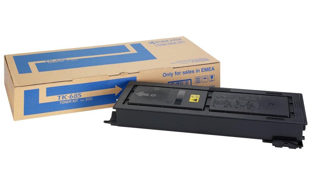 Toner Kyocera TK-685 černý Toner, originální, pro Kyocera TASKalfa 300i, 20000 stran, černý TK-685