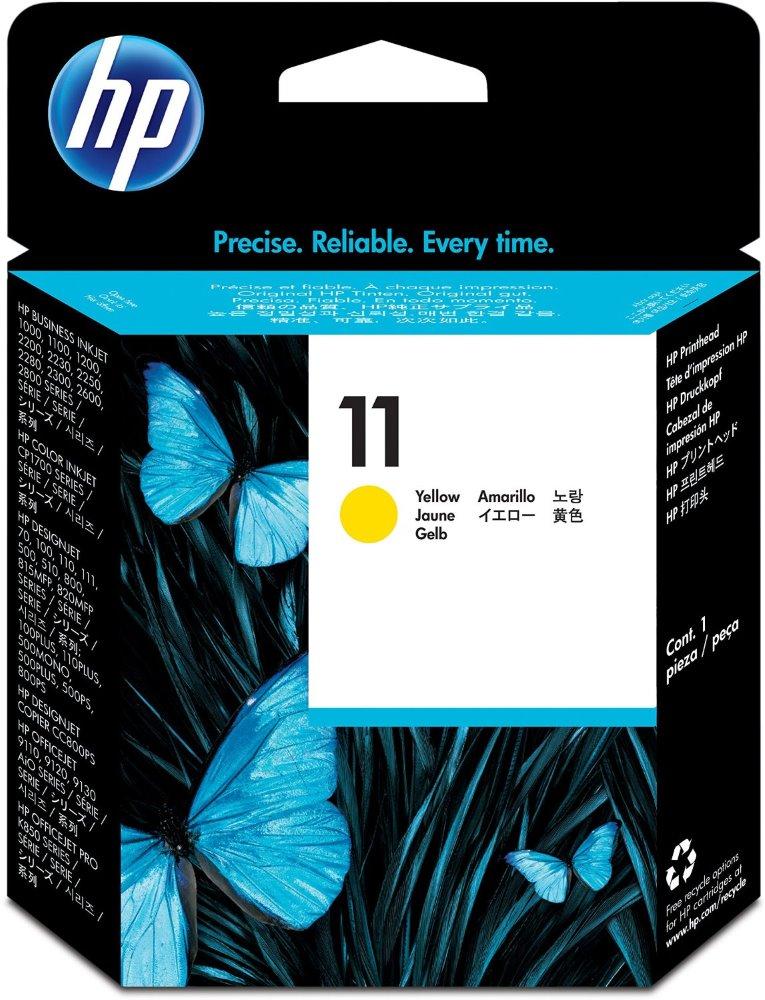 HP (11) C4813A - tisk. hlava žlutá, DSJ 500,800,BI 22xx originál
