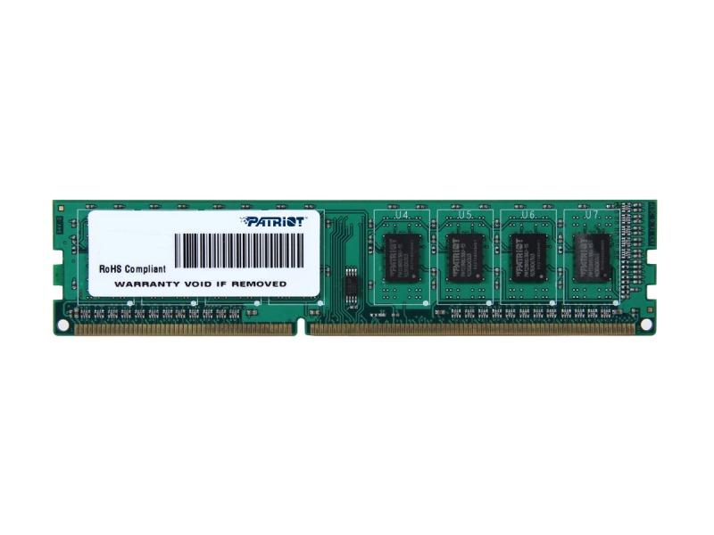 Operační paměť Patriot 2 GB Operační paměť, DDR3 2GB SL PC3-12800 1600MHz CL11 PSD32G160081